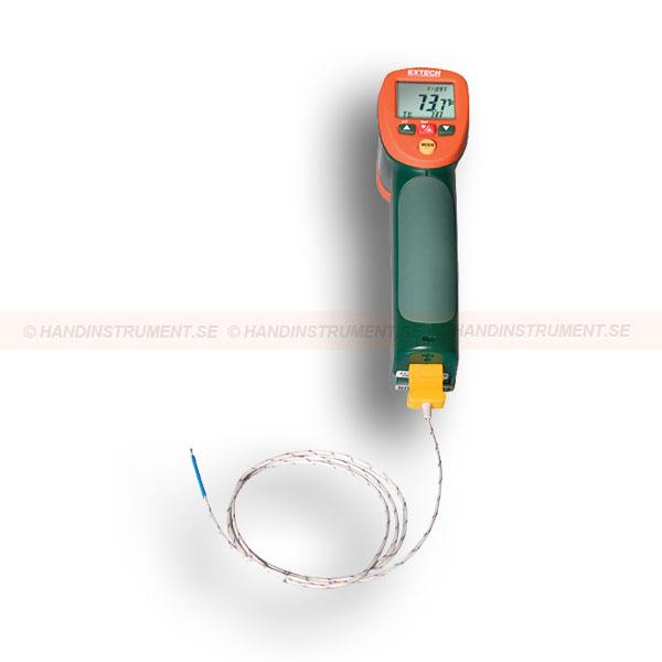 IR termometer med typ K ingång IR Termometer.se